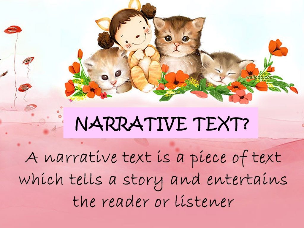 Narrative Text Definition Generic Structures Purposes Language